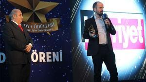 Gelişim Üniversitesi öğrencilerinden Hürriyete ödül
