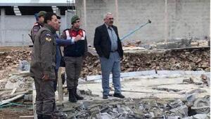Besihane duvarı yıkıldı: 3 ölü, 1 yaralı