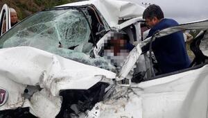Gazipaşada kaza: 1 ölü