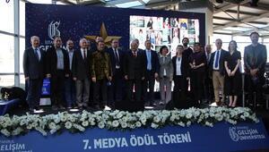 İstanbul Gelişim Üniversitesi'nin 7'inci Medya Ödülleri sahiplerini buldu