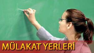 Sözleşmeli öğretmenlik mülakat yerleri MEB tarafından açıklandı Mülakatta bunlara dikkat edilecek