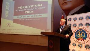GOPÜde TİKA konferansı