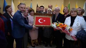 Başkan Ertürk BAŞKON heyetini ağırladı