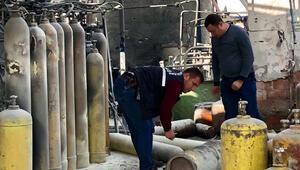 Ankara'da gaz dolumu yapılan fabrikada korkutan patlama
