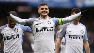 Icardi 4ledi, Inter farka koştu