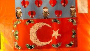 Silopili öğrencilerden Mehmetçiğe mektup