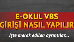 E-Okul Veli Bilgilendirme Sistemi (VBS) giriş ekranı - E-Okul devamsızlık sorgulama ve not görüntüleme sistemi