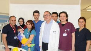 Halepte saldırıda yaralanan bebeği, Türk doktorları kurtardı