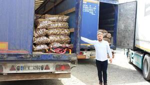 Gürcistan, Türkiyeden patates alımını durdurdu, TIR'lar yolda kaldı