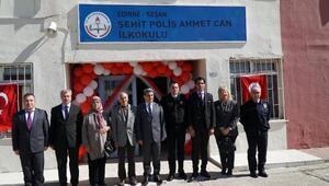 Şehit Özel Harekat PolisiAhmet Canın ismi, memleketindeki okula verildi