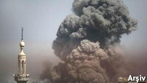 Son dakika: Suriyede roketli saldırı... Onlarca ölü var