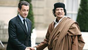 Sarkozy'ye Kaddafi gözaltısı