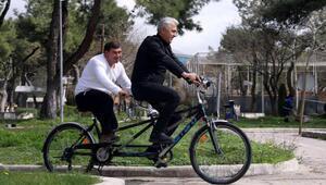 Engellilere bisiklet eğitimi