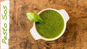 Pesto Sos Tarifi   Diyetisyen Andaç Yeşilyurt   Diyetisyen Mutfağı