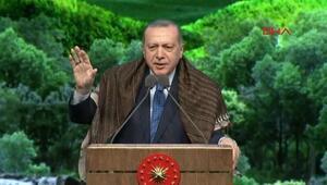 Cumhurbaşkanı Erdoğandan 23 milyon mektup eleştirisine cevap