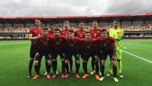 Türkiye - Avusturya: 2-0 (U19)
