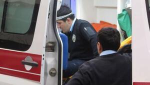 Kadıköyde polise kürekli saldırı: 3 polis yaralandı