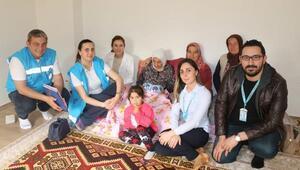 Yaşlılara Saygı Haftası ziyaretleri