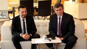 Kıbrıs Türk Barolar Birliği yeni başkanı Esendağlı, Feyzioğlu'nu ziyaret etti