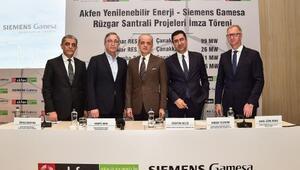 Akfen Yenilenebilir Enerji, 1.6 milyar TL yatırımla 242 MWlık 4 rüzgar santrali projesine başlıyor
