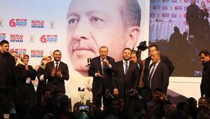 (geniş haber) Erdoğan Güngören ilçe kongresinde konuştu