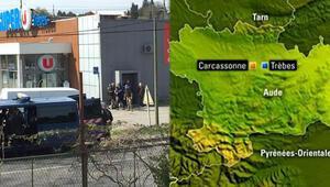 Son dakika Fransada rehine krizi sona erdi Terör örgütü DEAŞ üstlendi