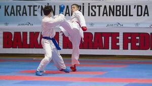 Balkan Karate Şampiyonası İstanbulda başladı