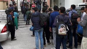 O şehirde 180 kaçak göçmen yakalandı