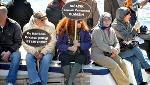 Sığacıkta çevrecilerin balık çiftliği ve orkinos tesisi zaferi