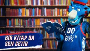 Anadolu Efes maçına bilet yerine kitapla girilecek