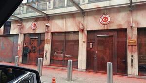 Türkiyenin Brüksel Büyükelçiliğine çirkin saldırı