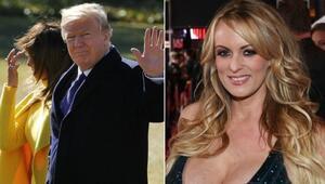 Trump ile birlikte oldum diyen Daniels: Tehdit ediliyorum
