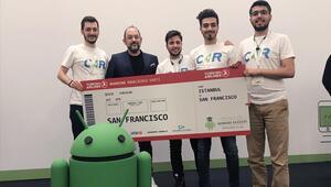 Üniversiteliler yazılım projesiyle San Francisco yolcusu