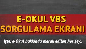 E Okul Veli Bilgilendirme Sistemi (VBS) girişi | E Okul sorgulama ekranı