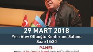 Ünlü Azeri Yazar Rızayev üniversiteli gençlerle buluşuyor