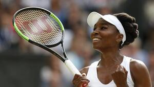 Venus Williams çeyrek finalde