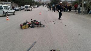Yeşilovada kaza: 3 yaralı