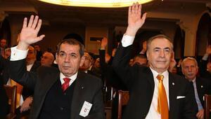 Galatasarayda tarihi kongre öncesinde sunum kavgası