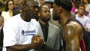LeBron James, Jordanı yakaladı