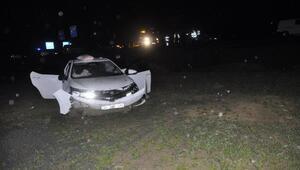 Daire Başkanı ve ailesi kaza geçirdi: 4 yaralı