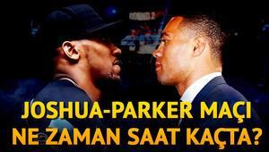 Anthony Joshua Joseph Parker boks maçı ne zaman saat kaçta hangi kanalda canlı olarak yayınlanacak
