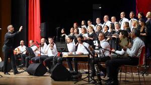 Manavgat Belediyesi TSM Korosundan ilk konser