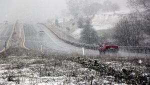 Geredede kar yağışı