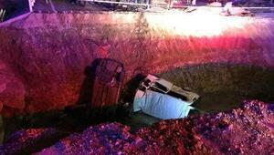 Bayburtta yoldaki çukura otomobil ve minibüs düştü: 7 ölü, 4 yaralı (3) Yeniden