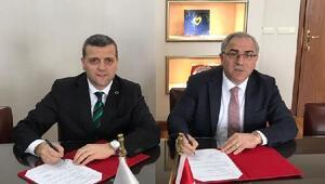 Hoca Ahmet Yesevi Üniversitesi'nin hizmet ve irtibat binasını TOKİ inşa edecek