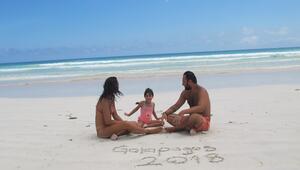 4 yaşındaki çocukla Galapagos adalarına