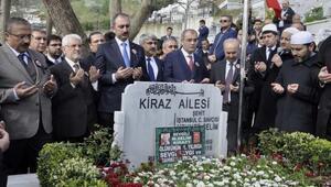 Şehit savcı Kiraz mezarı başında anıldı