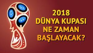 Dünya Kupası ne zaman 2018 Dünya Kupası nerede yapılacak