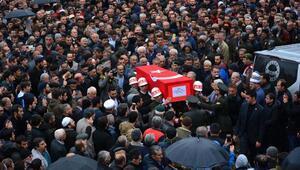 Afrin şehidini Niksarda son yolculuğuna 5 bin kişi uğurladı