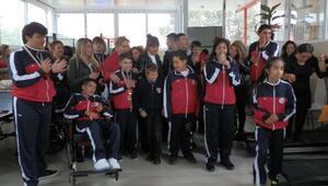 Foçanın özel çocuklarına spor salonu